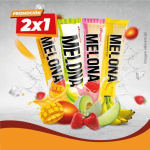 Helado Melona 2 x1